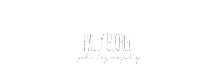 haley george . wedding, lifestyle & humanitarian photography . nashville, tn logo
